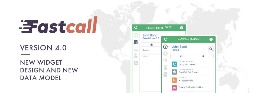 Fastcall V4, Salesforce Dialer, Introduces Advanced Sales Analytics
