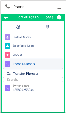 Unit - Transferring Calls - Fastcall